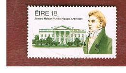 IRLANDA (IRELAND) -  SG 499   -    1981 J. HOBAN, WHITE HOUSE ARCHITECT -     USED - 1949-... Repubblica D'Irlanda