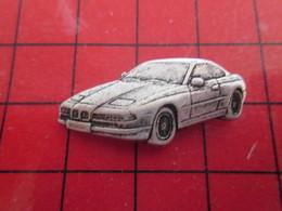 1116C Pin's Pins / Rare Et De Belle Qualité / THEME AUTOMOBILE :  BMW ? METAL ACIER BROSSé EN RELIEF - BMW