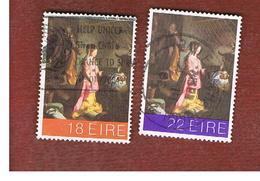 IRLANDA (IRELAND) -  SG 505.506   -    1981 CRISTMAS   -     USED - 1949-... Repubblica D'Irlanda