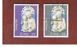 IRLANDA (IRELAND) -  SG 530.531   -    1982 CRISTMAS   (COMPLET SET OF 2)  -     USED - 1949-... Repubblica D'Irlanda