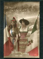 CPA - Les Soeurs Latines - Guerre 1914-18