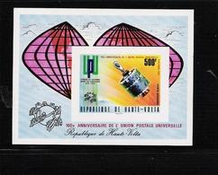 UPPER VOLTA, 1974 U.P.U. Centenary S/s Imperf. MNH - U.P.U.