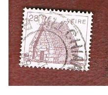 IRLANDA (IRELAND) -  SG 545c   -    1985 IRISH ARCHITECTURE: ST. MACDARA CHURCH 28  -     USED - 1949-... Repubblica D'Irlanda