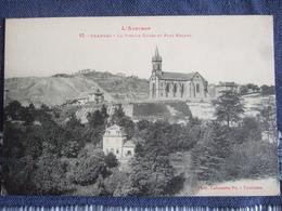 CRANSAC / LA VIEILLE EGLISE ET PARC ROQUES / JOLIE CARTE LABOUCHE - Other Municipalities