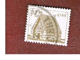 IRLANDA (IRELAND) -  SG 547c   -    1986 IRISH ARCHITECTURE: ST. MACDARA CHURCH 32  -     USED - 1949-... Repubblica D'Irlanda