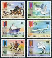 UPPER VOLTA, 1974 U.P.U. Centenary 6v MNH (MAIL TRANSPORT) - Angola
