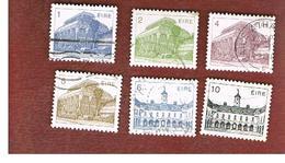 IRLANDA (IRELAND) -  SG 532.539   -    1983 IRISH ARCHITECTURE   -     USED - 1949-... Repubblica D'Irlanda