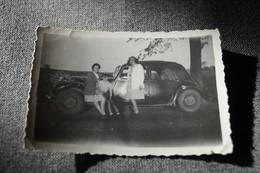 Photo Originale,voiture Ancètre,vieux Tacot ,8,5 Cm. / 6,5 Cm. - Automobiles