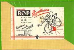 BUVARD & Blotting Paper : Hypertension Comprimés BOP  Labo  Pautrat  Courreur Velo - Produits Pharmaceutiques