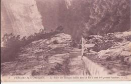 CPA - 3. Vercors Pittoresque - La Route Des écouges Taillée Dans Le Roc........ - Other Municipalities