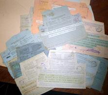 TELEGRAMMES ANCIENS POSTE P T T 15 TELEGRAMMES FRANCAIS ET ETRANGERS ANNEES 1900 1930 - Autres