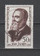 FRANCE / 1959 / Y&T N° 1217 : Jean Jaurès - Choisi - Cachet Rond - France
