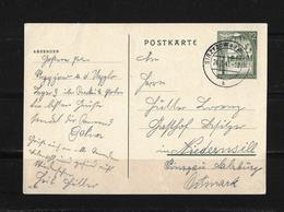 1941 GENERALGOUVERNEMENT → GA Postkarte Stryzow Nach Niedernswill - Deutschland