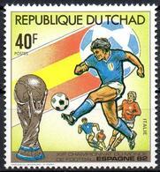 TCHAD CHAD 1982 - MNH** - FIFA World Cup Football Spain España Spanien 82 - Fußball Futbol Germany Italy Italia Calcio - 1982 – Espagne