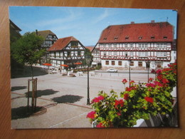 Wolfhagen. Marktplatz Mit Altem Rathaus - Wolfhagen