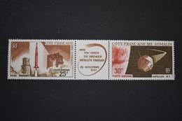 Cote Des Somalies - 1966 Poste Aérienne Lancement 1er Satellite Français Et Fusée Diamant N° PA 46A Neuf ** - French Somali Coast (1894-1967)