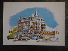 SCHEVENINGEN BALI HOTEL BAR INDISCH RESTAURANT BADHUISWEG 1 - Scheveningen