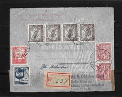 1941 BOLIVIEN → Luftpost (Correos De Bolivia) Zensur R-Brief Nach Berlin-Halensee  ►RAR◄ - Bolivie