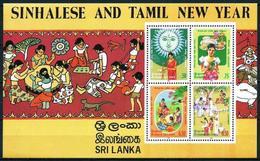 Sri Lanka (Ceilán) Hoja Bloque-31 En Nuevo - Sri Lanka (Ceilán) (1948-...)