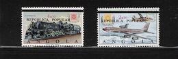 ANGOLA, 1970 110th Anniversary Of Stamps Of Angola 2v MNH - Angola