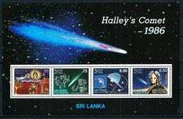 Sri Lanka (Ceilán) Hoja Bloque-30 En Nuevo - Sri Lanka (Ceilán) (1948-...)
