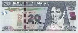 GUATEMALA 20 QUETZALES 2014 P-124d UNC [GT124d] - Guatemala
