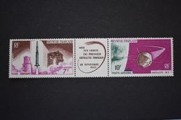 Polynésie Française - 1966 Poste Aérienne Lancement 1er Satellite Français Et Fusée Diamant N° PA 18A Neuf ** - French Polynesia