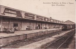 17 LA ROCHELLE -- Association Rochelaise De Pêche à Vapeur -- Quai D' Expédition - La Rochelle