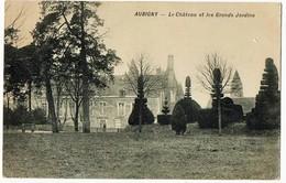AUBIGNY - Le Château Et Les Grands Jardins - Aubigny Sur Nere