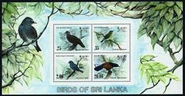 Sri Lanka (Ceilán) Hoja Bloque-21 En Nuevo - Sri Lanka (Ceilán) (1948-...)