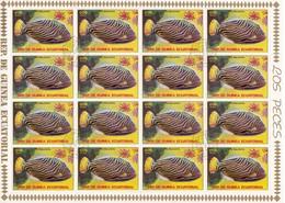 Guinea Equatoriale - Pesce Balestra, Foglio Annullo I° Giorno - Usato° - Guinea Equatoriale