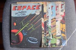 """Superbe Lot De La  BD """" ESPACE """" 1953/1954 : Du N° 1 Au N° 11 - Livres, BD, Revues"""