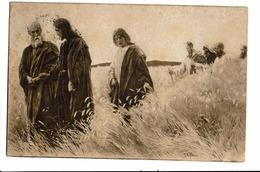 CPA - Carte Postale -Pays Bas-'s-En Zij Volgden Hem 1908-VM1107 - Jezus