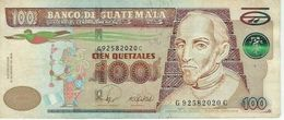 GUATEMALA 100 QUETZALES 2008 P-119a XF [GT119a] - Guatemala