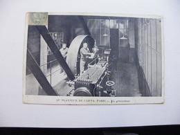A467. CPA. 75. PARIS. AU PLANTEUR DE CAÏFFA. Un Générateur.  Beau Plan Animé. écrite & Voyagée 1906 - Petits Métiers à Paris