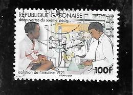 TIMBRE OBLITERE DU GABON DE 2001 N° MICHEL 1652 - Gabon