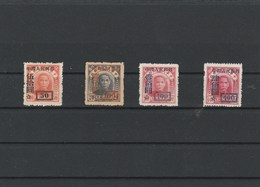 EX-P-19-03-04 CHINA 4 STAMPS. MICHEL # 35,38,42,44. = 60 EURO. - Neufs