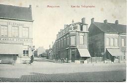 CPA / AK / PK   -   MOUSCRON  Rue Du Télégraphe - Mouscron - Moeskroen