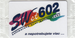 SLOVAKIA - Swet 602 ,50 Units, Tirage 10000, 12/94, Mint - Slovaquie