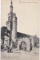 PLOGONNEC - L'Eglise Et Le Cimetière - Animé - Other Municipalities