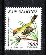San Marino - 1990. Rigogolo. Oriole. MNH - Moineaux