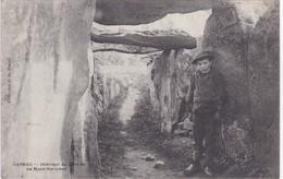 CARNAC - Intérieur Du Dolmen De Mané-Kerioned - Animé - Carnac