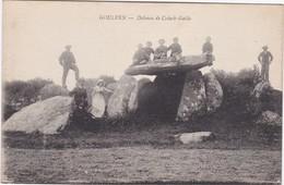 GOULVEN - Dolmen De Créach-Gallic - Animé - Autres Communes