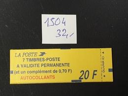 Carnet  N° 1504  Neuf **  TTB - Libretas