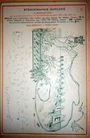 STENOGRAPHIE DUPLOYE ENSEIGNEMENT PEDAGOGIE CALLYGRAPHIE REGATES - Schools
