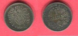 1 MARK  ( KM 7) TB 6 - [ 2] 1871-1918: Deutsches Kaiserreich