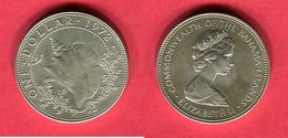 1 DOLLAR   ( KM 7) TB+ 25 - Bahamas