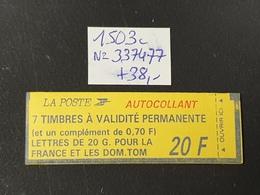 Carnet  N° 1503c  Neuf **  TTB - Libretas