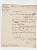 DOC REVOLUTION - HAMBOURG - REGIMENT A CHEVAL STATIONNE A STETTIN SIGNATURE GENERAL DE BRIGADE - 1811 - Documentos