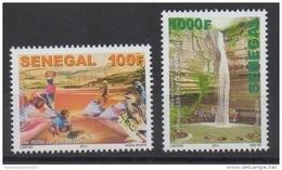 Sénégal 2014 Mi. 2221/2222 Lacs Et Cours D'eau Faune Fauna Birds Oiseaux Vögel Reptiles Tortue Turtle Lac Rose MNH - Senegal (1960-...)